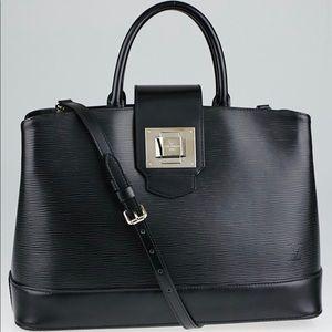 Beautiful Louis Vuitton Mirabeau Epi Noir GM Tote